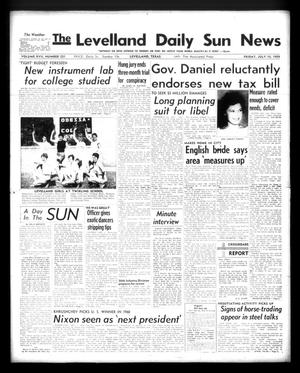 Primary view of object titled 'The Levelland Daily Sun News (Levelland, Tex.), Vol. 17, No. 231, Ed. 1 Friday, July 10, 1959'.
