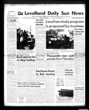 Primary view of object titled 'The Levelland Daily Sun News (Levelland, Tex.), Vol. 17, No. 57, Ed. 1 Friday, December 5, 1958'.