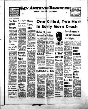 San Antonio Register (San Antonio, Tex.), Vol. 43, No. 49, Ed. 1 Friday, May 23, 1975