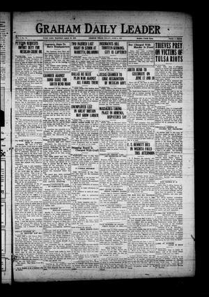 Graham Daily Leader (Graham, Tex.), Vol. 1, No. 74, Ed. 1 Saturday, June 4, 1921