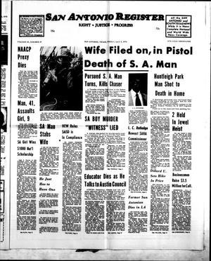 San Antonio Register (San Antonio, Tex.), Vol. 43, No. 47, Ed. 1 Friday, May 9, 1975