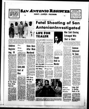 San Antonio Register (San Antonio, Tex.), Vol. 45, No. 17, Ed. 1 Friday, July 30, 1976