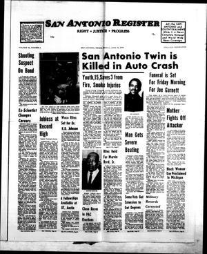 San Antonio Register (San Antonio, Tex.), Vol. 44, No. 1, Ed. 1 Friday, June 20, 1975