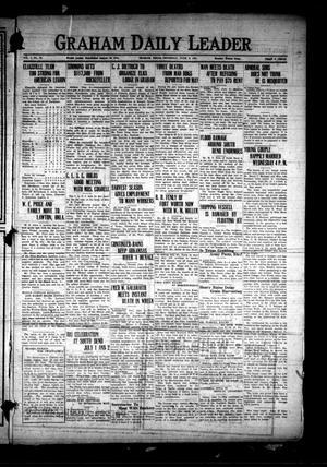Graham Daily Leader (Graham, Tex.), Vol. 1, No. 79, Ed. 1 Thursday, June 9, 1921