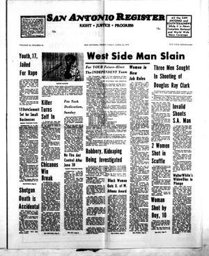 San Antonio Register (San Antonio, Tex.), Vol. 43, No. 43, Ed. 1 Friday, April 11, 1975