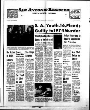 San Antonio Register (San Antonio, Tex.), Vol. 43, No. 38, Ed. 1 Friday, March 7, 1975