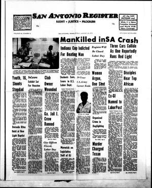 San Antonio Register (San Antonio, Tex.), Vol. 44, No. 11, Ed. 1 Friday, August 29, 1975