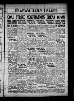 Graham Daily Leader (Graham, Tex.), Vol. 1, No. 25, Ed. 1 Thursday, April 7, 1921
