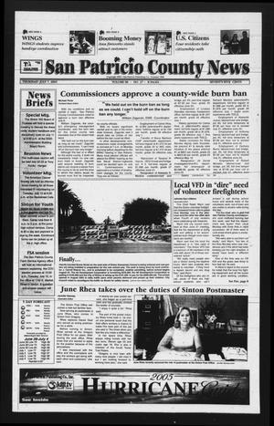 San Patricio County News (Sinton, Tex.), Vol. 98, No. 27, Ed. 1 Thursday, July 7, 2005