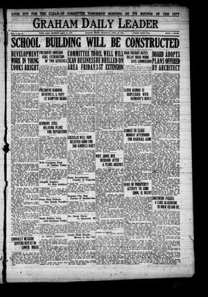 Graham Daily Leader (Graham, Tex.), Vol. 1, No. 43, Ed. 1 Thursday, April 28, 1921