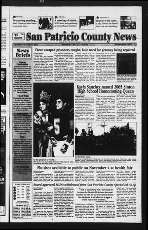 San Patricio County News (Sinton, Tex.), Vol. 98, No. 42, Ed. 1 Thursday, October 20, 2005