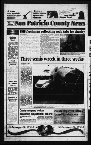 San Patricio County News (Sinton, Tex.), Vol. 97, No. 6, Ed. 1 Thursday, February 12, 2004