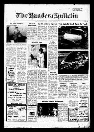 The Bandera Bulletin (Bandera, Tex.), Vol. 33, No. 19, Ed. 1 Friday, October 7, 1977