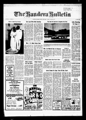 The Bandera Bulletin (Bandera, Tex.), Vol. 33, No. 13, Ed. 1 Friday, August 26, 1977