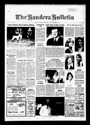 The Bandera Bulletin (Bandera, Tex.), Vol. 33, No. 16, Ed. 1 Friday, September 16, 1977