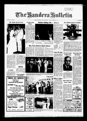 The Bandera Bulletin (Bandera, Tex.), Vol. 33, No. 18, Ed. 1 Friday, September 30, 1977