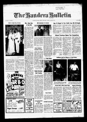 The Bandera Bulletin (Bandera, Tex.), Vol. 33, No. 12, Ed. 1 Friday, August 19, 1977