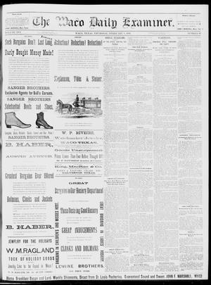 Primary view of object titled 'The Waco Daily Examiner. (Waco, Tex.), Vol. 16, No. 45, Ed. 1, Thursday, February 8, 1883'.