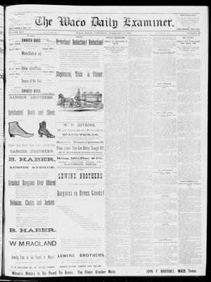 Primary view of object titled 'The Waco Daily Examiner. (Waco, Tex.), Vol. 16, No. 53, Ed. 1, Saturday, February 17, 1883'.