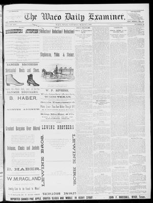 Primary view of object titled 'The Waco Daily Examiner. (Waco, Tex.), Vol. 16, No. 65, Ed. 1, Saturday, March 3, 1883'.