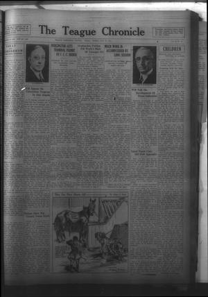 Primary view of The Teague Chronicle (Teague, Tex.), Vol. 25, No. 44, Ed. 1 Friday, May 29, 1931