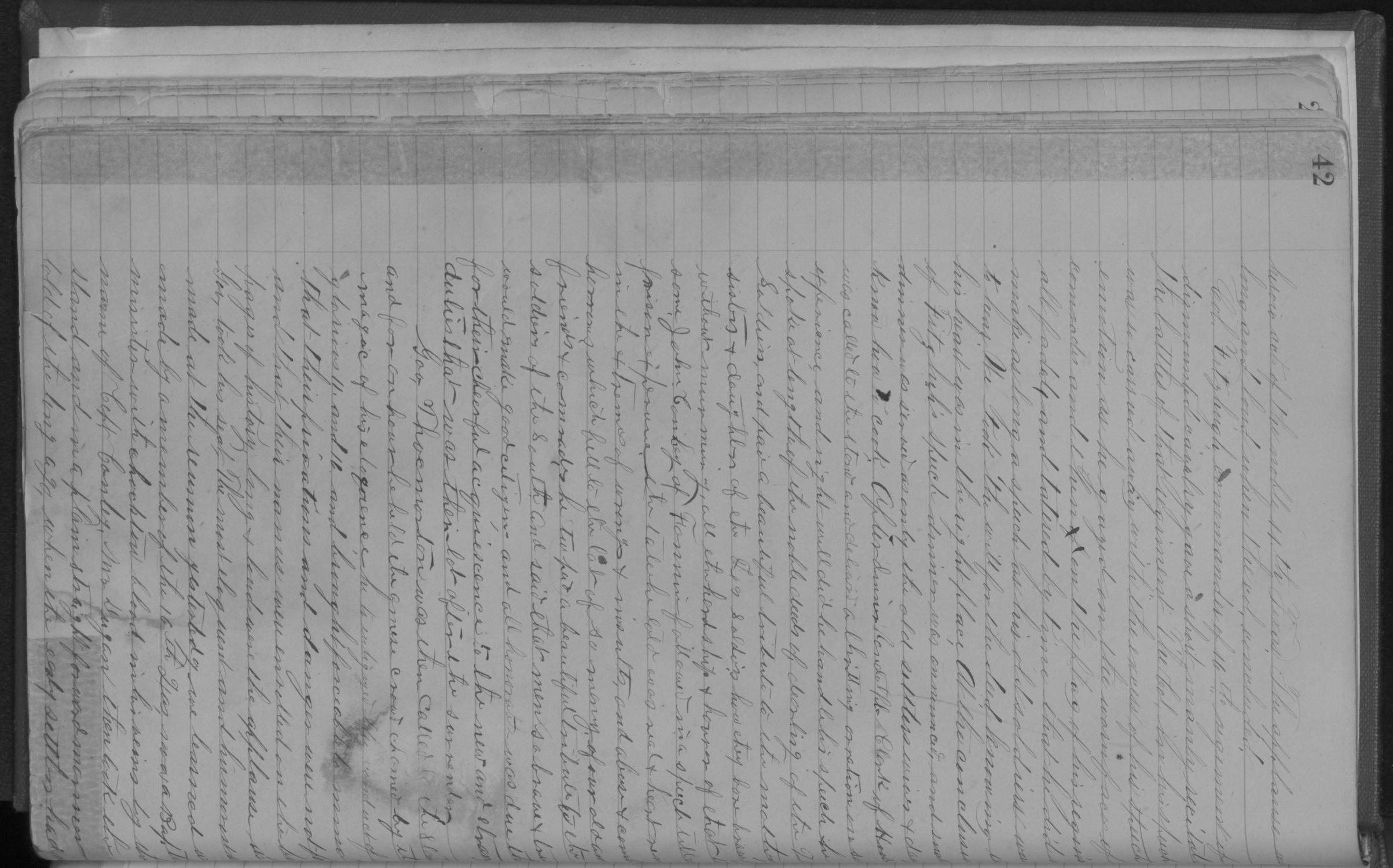 Old Settler's Association of Grayson County, Vol. 1.                                                                                                      [Sequence #]: 42 of 322