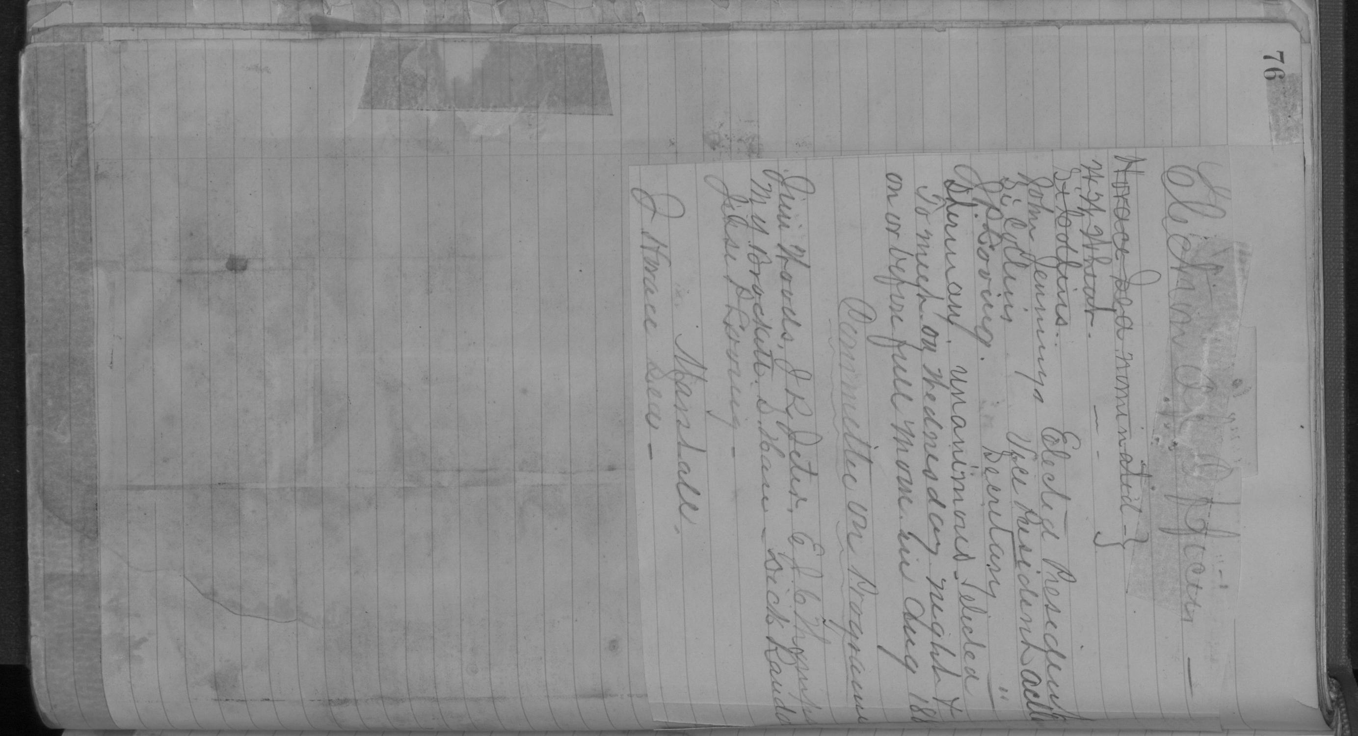 Old Settler's Association of Grayson County, Vol. 1.                                                                                                      [Sequence #]: 76 of 322