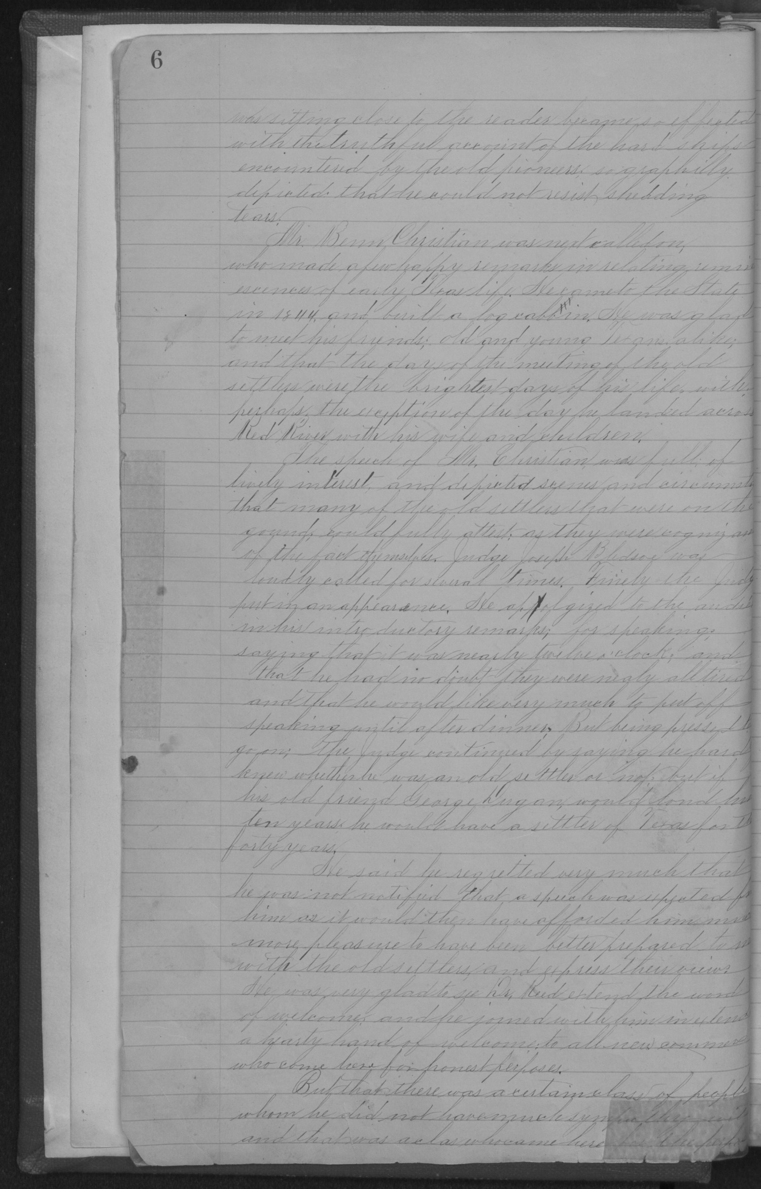 Old Settler's Association of Grayson County, Vol. 1.                                                                                                      [Sequence #]: 8 of 322