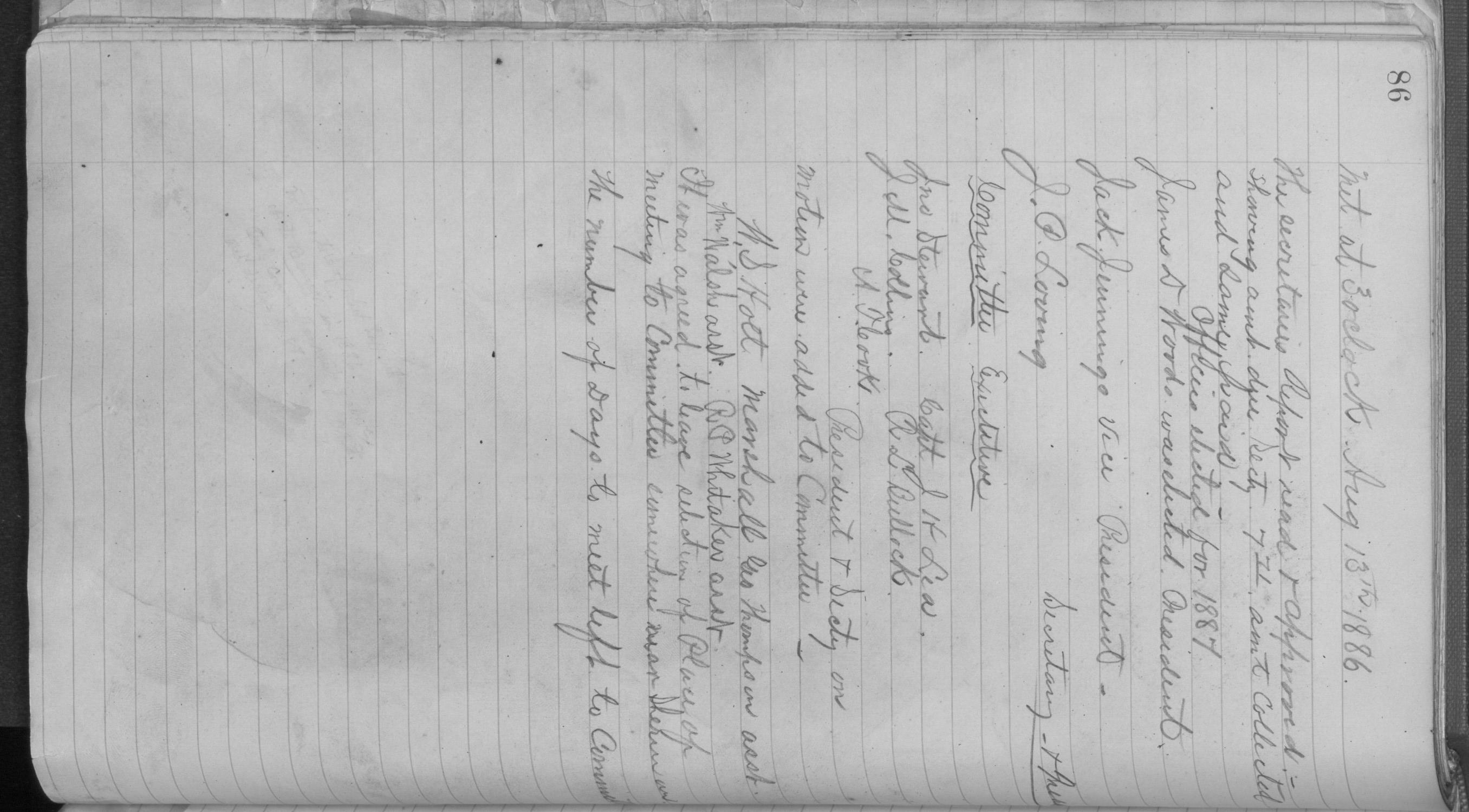 Old Settler's Association of Grayson County, Vol. 1.                                                                                                      [Sequence #]: 86 of 322