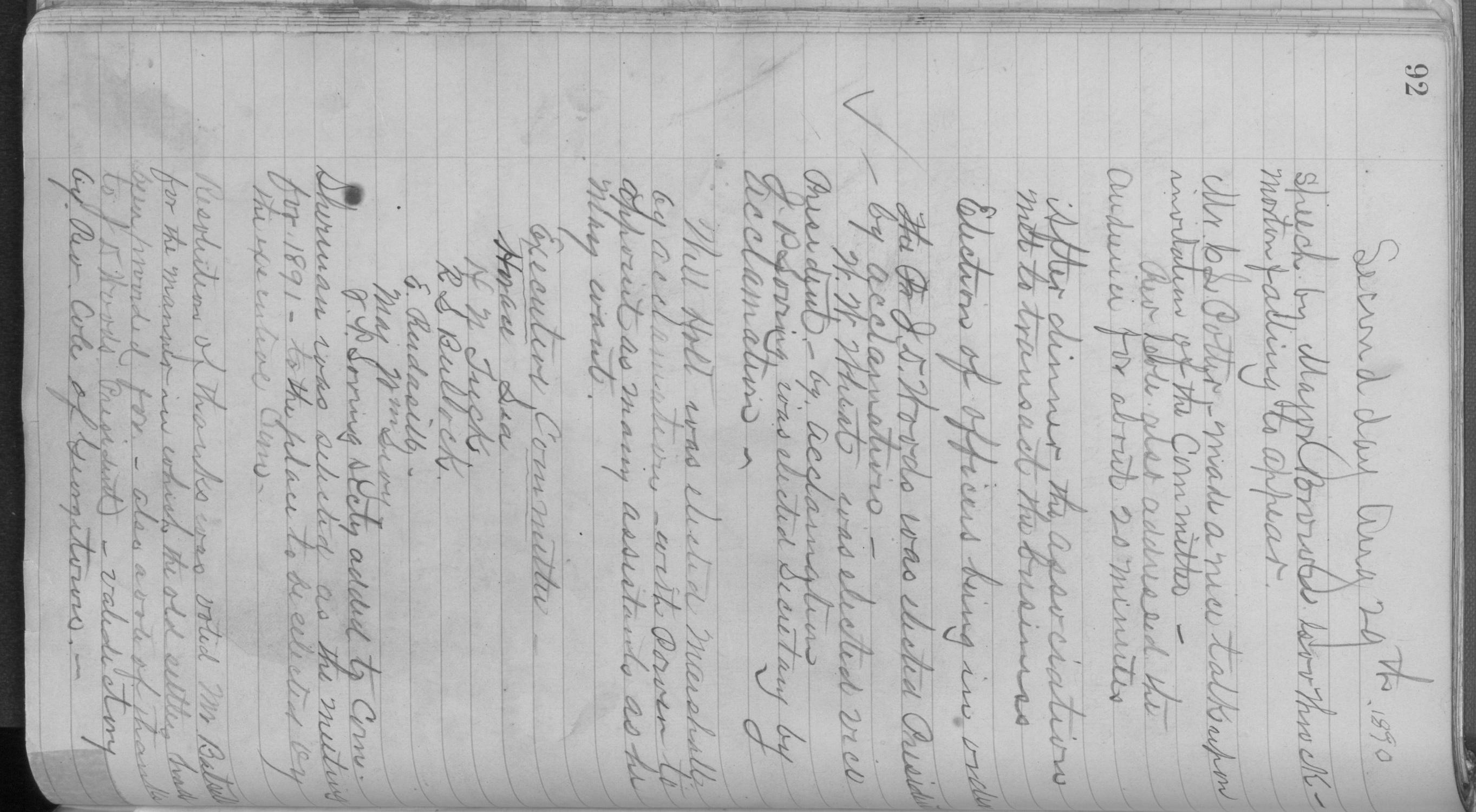 Old Settler's Association of Grayson County, Vol. 1.                                                                                                      [Sequence #]: 92 of 322