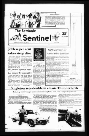 Seminole Sentinel (Seminole, Tex.), Vol. 78, No. 61, Ed. 1 Sunday, June 2, 1985