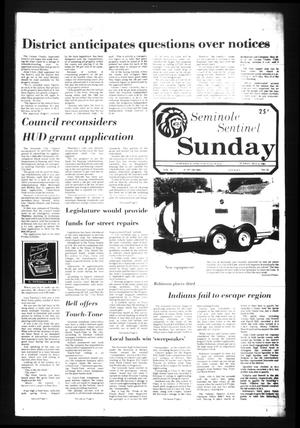 Seminole Sentinel (Seminole, Tex.), Vol. 74, No. 53, Ed. 1 Sunday, May 3, 1981