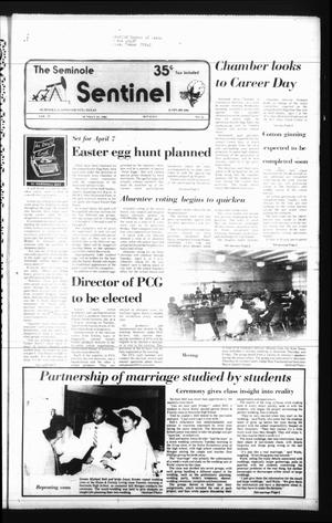 Seminole Sentinel (Seminole, Tex.), Vol. 78, No. 41, Ed. 1 Sunday, March 24, 1985