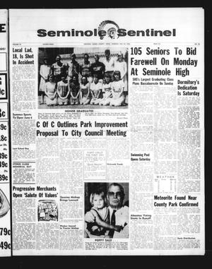 Seminole Sentinel (Seminole, Tex.), Vol. 59, No. 28, Ed. 1 Thursday, May 26, 1966