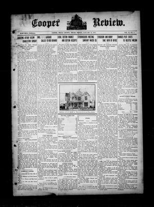 Cooper Review. (Cooper, Tex.), Vol. 35, No. 4, Ed. 1 Friday, January 22, 1915