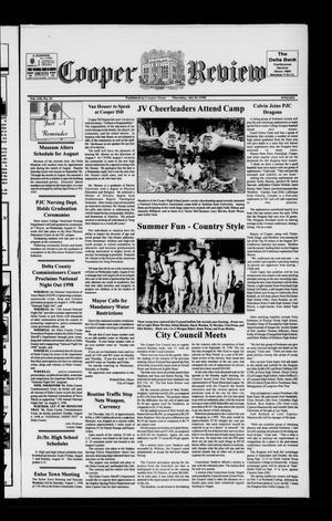 Cooper Review (Cooper, Tex.), Vol. 118, No. 31, Ed. 1 Thursday, July 30, 1998
