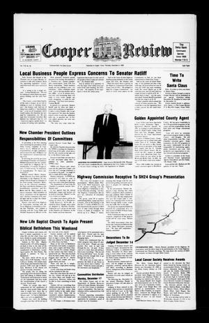 Cooper Review (Cooper, Tex.), Vol. 110, No. 49, Ed. 1 Thursday, December 6, 1990