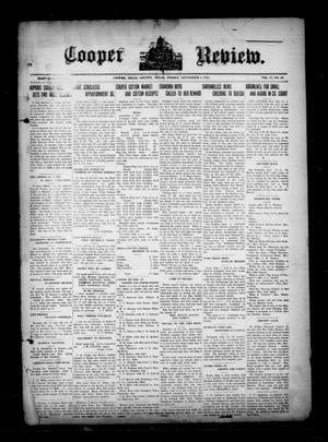 Cooper Review. (Cooper, Tex.), Vol. 35, No. 36, Ed. 1 Friday, September 3, 1915