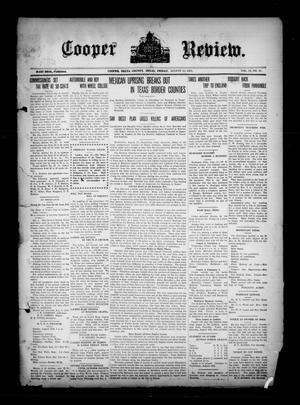 Cooper Review. (Cooper, Tex.), Vol. 35, No. 33, Ed. 1 Friday, August 13, 1915