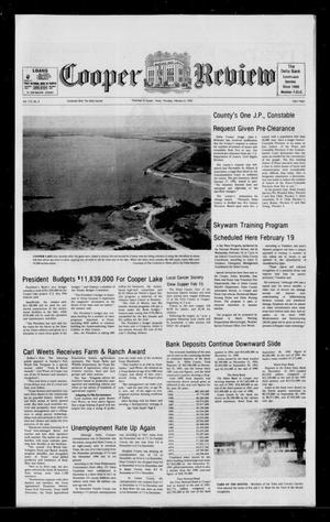 Cooper Review (Cooper, Tex.), Vol. 112, No. 6, Ed. 1 Thursday, February 6, 1992