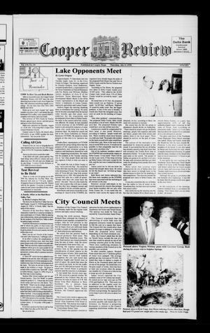 Cooper Review (Cooper, Tex.), Vol. 118, No. 29, Ed. 1 Thursday, July 16, 1998