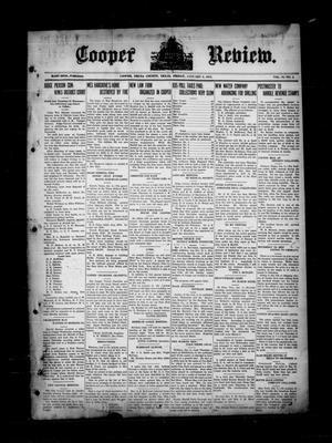 Cooper Review. (Cooper, Tex.), Vol. 35, No. 2, Ed. 1 Friday, January 8, 1915