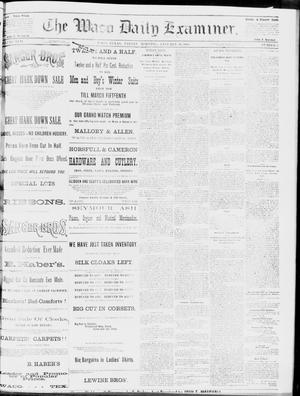 Primary view of object titled 'The Waco Daily Examiner. (Waco, Tex.), Vol. 17, No. 2, Ed. 1, Friday, January 18, 1884'.