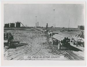 [Oil Field Scene in Ector County]
