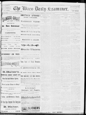 Primary view of object titled 'The Waco Daily Examiner. (Waco, Tex.), Vol. 17, No. 27, Ed. 1, Saturday, February 16, 1884'.