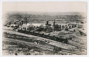 Primary view of object titled '[West Texas Refinery}'.