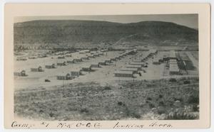 [Photograph of a Camp Town]