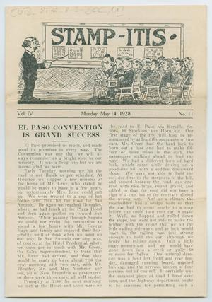 Stamp-Itis, Volume 4, Number 11, May 14, 1928
