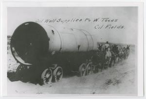 [Oil Well Supplies to W. Texas Oil Fields]