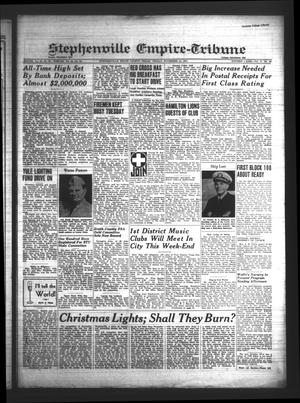 Primary view of Stephenville Empire-Tribune (Stephenville, Tex.), Vol. 71, No. 46, Ed. 1 Friday, November 14, 1941